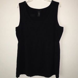 LB Knit Ribbed Sweater Tank Top